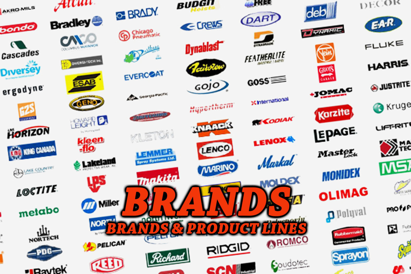 Brands and Product Lines