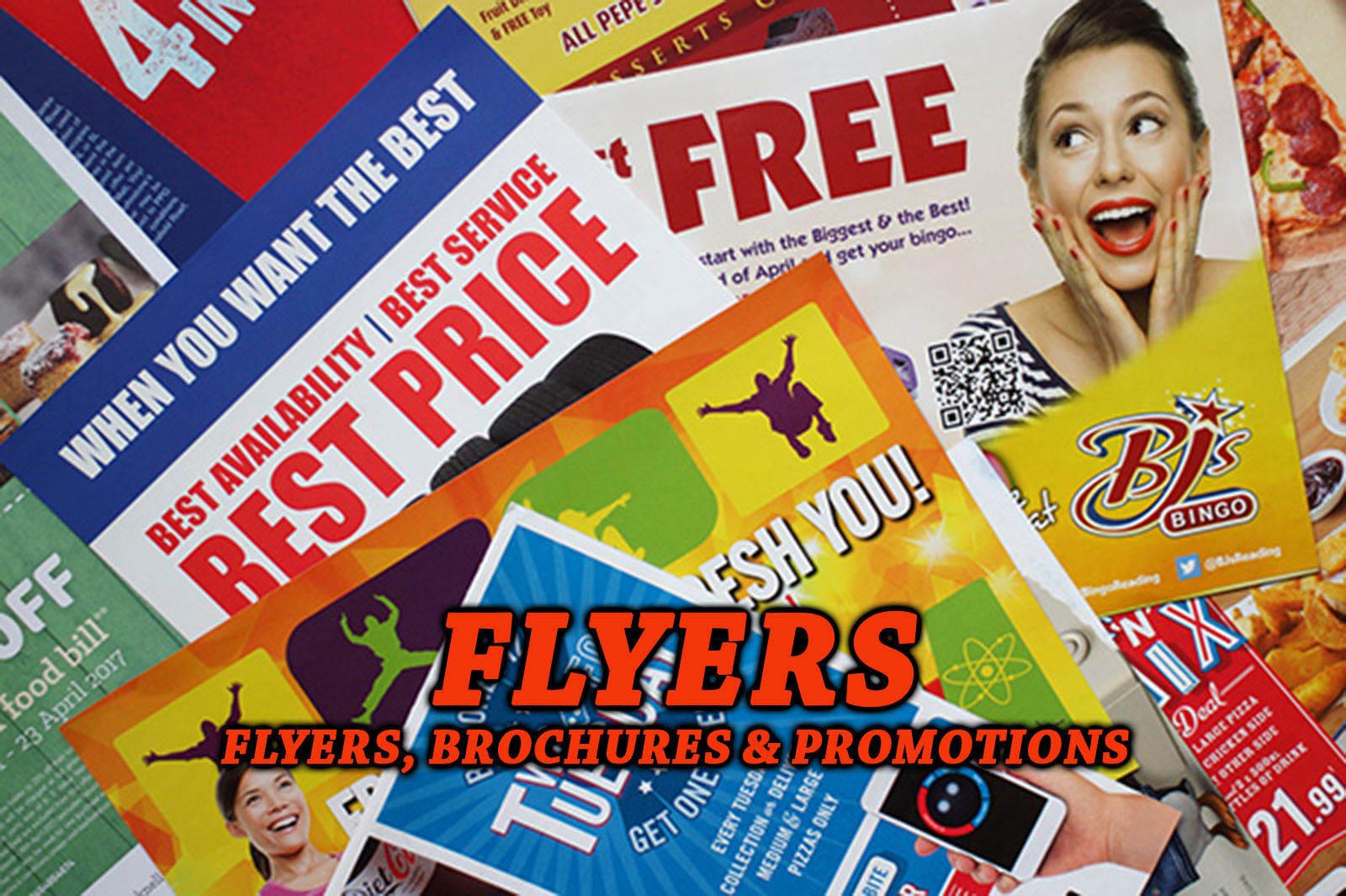 Flyers, Brochures and Promotions